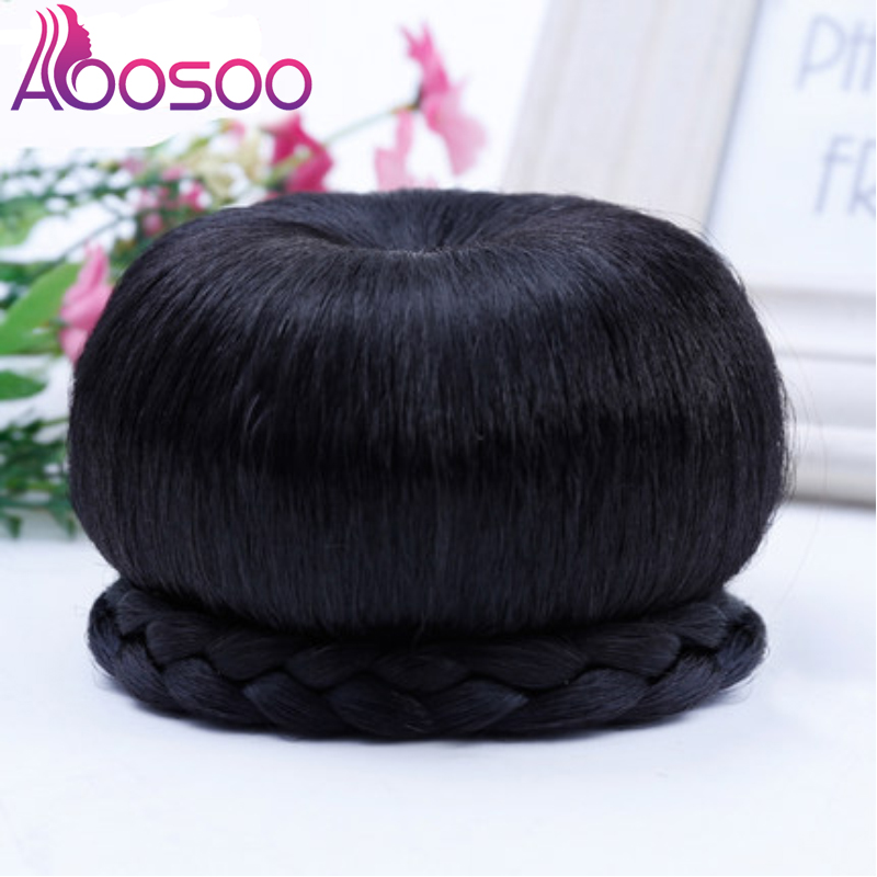 Costume  Apple Chignons  Apple Hair Buns Retro Ball Hair Buns, Bride Hair Accessories 2colors Natural Black Brown