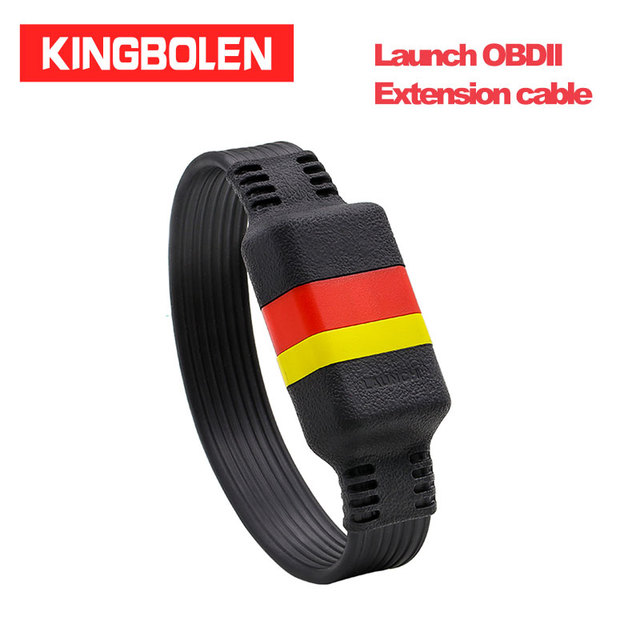 Launch OBDII Extension cable 16Pin Male To Female OBD2 Connector diagnostic tool extended adapter
