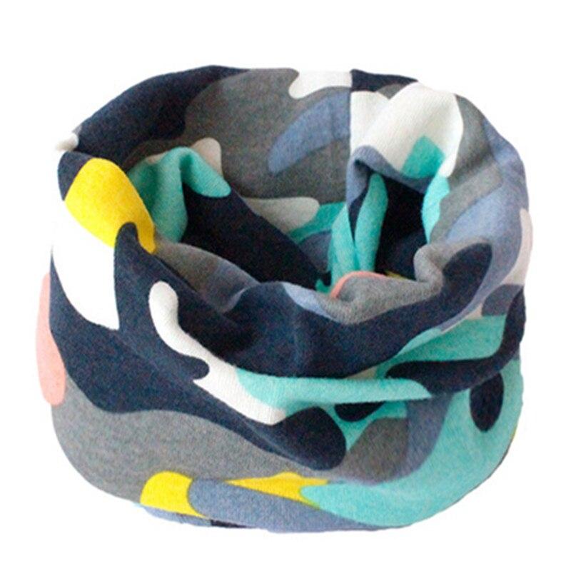 Весенне-осенне-зимний детский хлопковый шарф для От 0 до 10 лет, Детские шарфы с героями мультфильмов, модный теплый воротник - Цвет: 51
