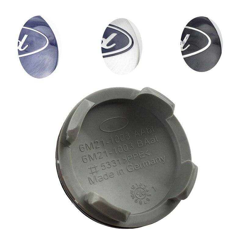 5661.1руб. 10% СКИДКА|80 шт. 54 мм колпачки для колес автомобиля эмблема значок для Ford Fiesta Focus Fusion Mondeo Escap|Колпаки на колеса| |  - AliExpress