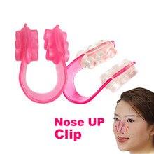 1pc silikonowy nos Shaper nos up podnoszenia kształtowanie most prostowanie twarzy Clipper korektor kobiety dziewczyna masażer do twarzy klips upiękniający