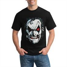 Lobo premium canvas swea face anime t shirt dos homens oversized camiseta otaku protesto hoodie masculino