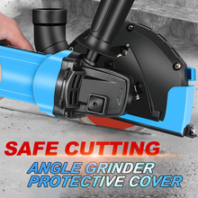 Universal Surface Cutting Dust Shroud For Angle Grinder 4 Inch to 5 Inch Dust Collector Attachment Cover Tool New