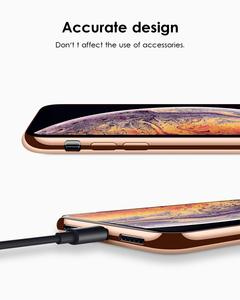 Image 5 - สำหรับ iPhone 11 PRO MAX 11 กรณี Pro, ultra Slim บางนุ่ม Soft Premium Chrome กันชน TPU โปร่งใสแผ่น