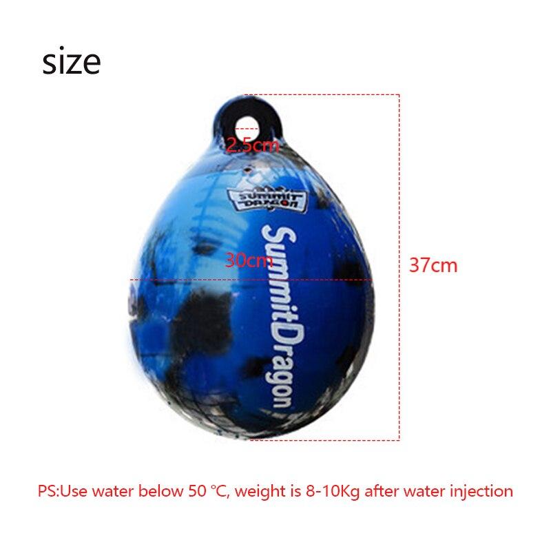 Summitdragon pvc boxe água saco de boxe inflável ginásio kickboxing taewkondo muay thai almofadas peso fitnes equipamentos de engrenagem 6