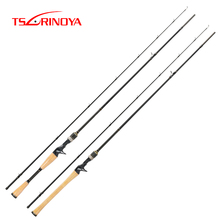 TSURINOYA PROFLEX II Casting Fishing Rod 1.89m 1.95m 2.13m 2 Section UL/ML/M Power Fast Action Carbon Fishing Pole Vara De Pesca