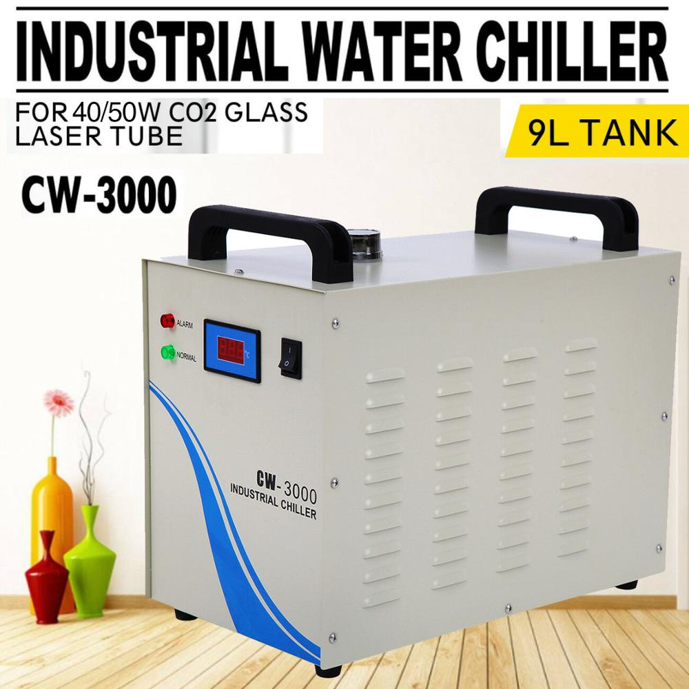 CW-3000 Industrial Water Chiller For CNC Laser Engraver Engraving Machine