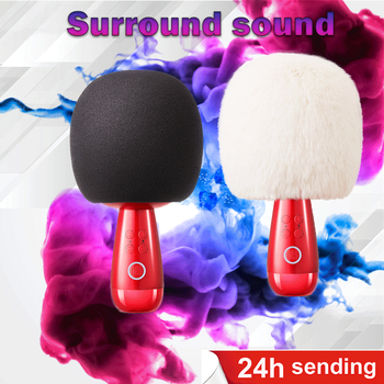NEW G2 G1 Q3 Big Egg Microphone Wireless Changba professional mic Bluetooth karaoke Micro-phone sing for live