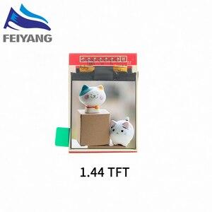 Image 4 - TFT ekran 0.96 / 1.3 1.44 inç IPS 7P SPI HD 65K tam renkli LCD modülü ST7735 sürücü IC 80*160 (OLED) arduino için