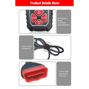 Image 5 - 2020 Newest Professional Car Code Reader Diagnostic Scan Tool KW309 OBD2 Scanner automotive Check Engine Light Tools Mu