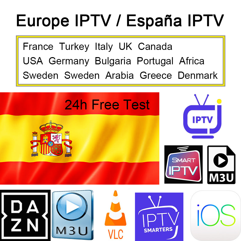 IPTV Arabic <font><b>Belgium</b></font> Spain Portugal IPTV M3U Europe IPTV Germany Sweden Denmark Poland Norway Albania Turkey IP TV No APP Include image