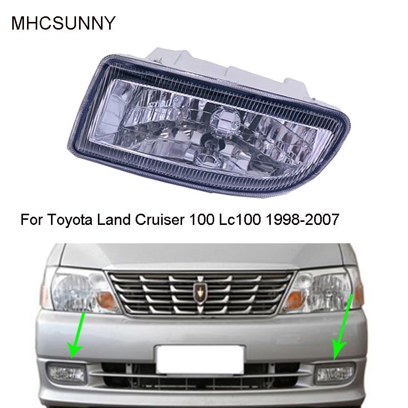 Передние противотуманные фары светильник для Toyota Land Cruiser 100 Lc100 1998 1999 2000 2001 2002 2003 2004 2005 2006 2007 Hdj100 противотуманная фара дальнего света