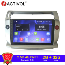 Android Dvd-Player Multimedia Car-Accessory Car-Radio Citroen C4 HACTIVOL 2G 0 for C-Triomphe