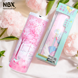 Image 5 - NBX  Pencil Cases Password Cartoon Pattern Pen Holder Large Capacity Stationery Box Coded Lock Home Office School Storage Bag