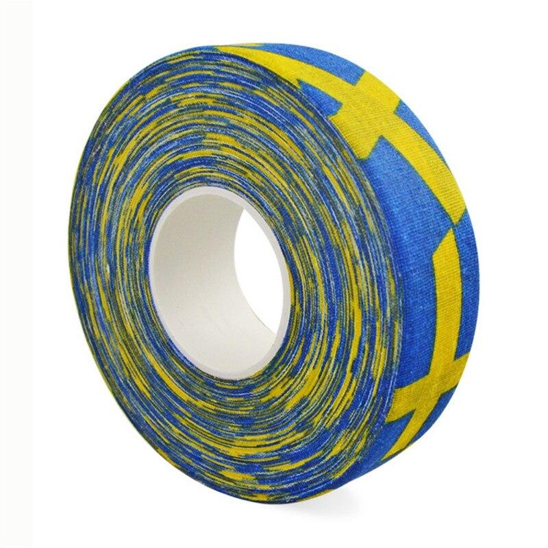 2.5 Cm X 25 Cm Hockey Tape Sport Safety Football Volleyball Basketball Knee Pads Anti-slip Hockey Stick Tape