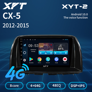XYT For Mazda CX5 CX-5 CX 5 2012 2013 2014 2015 Car Radio Multimedia Video Player Navigation No 2din 2 Din Dvd Audio Bluetooth image