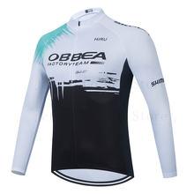 2021 espanha pro equipe de manga longa conjunto camisa ciclismo bib calças ropa ciclismo bicicleta roupas mtb camisa uniforme dos homens