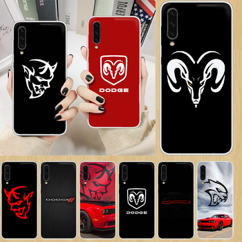 Logo Sport Car brand Dodge Phone Case hull For SamSung Galaxy note A 5 7 8 9 20 30 40 50 51 60 70 71 80 2017 18 E transparent image
