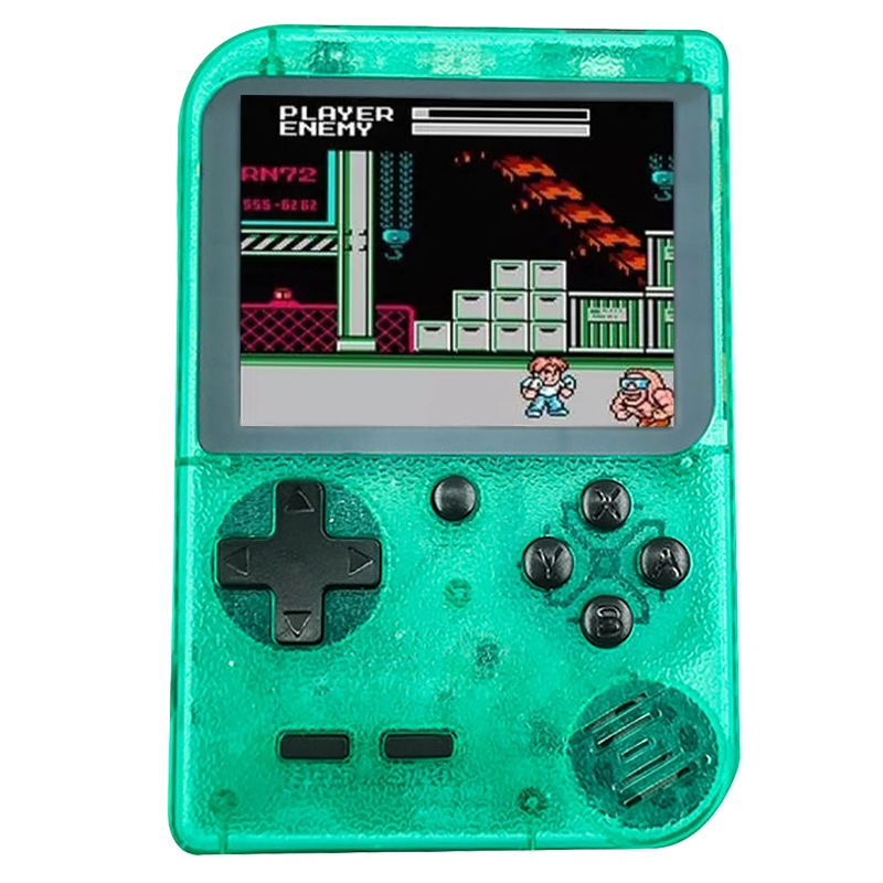 Portable Video Game Console Retro Handheld Mini Pocket Game Player Built-In 400 Classic Games Gift for Child Nostalgic Play