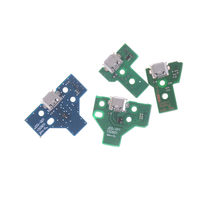 New With Flex Ribbon Cable JDS-001 JDS-011 JDS-030 JDS-040 USB Charging Port Socket Board Charger Board For PS4 Pro Controller B(China)