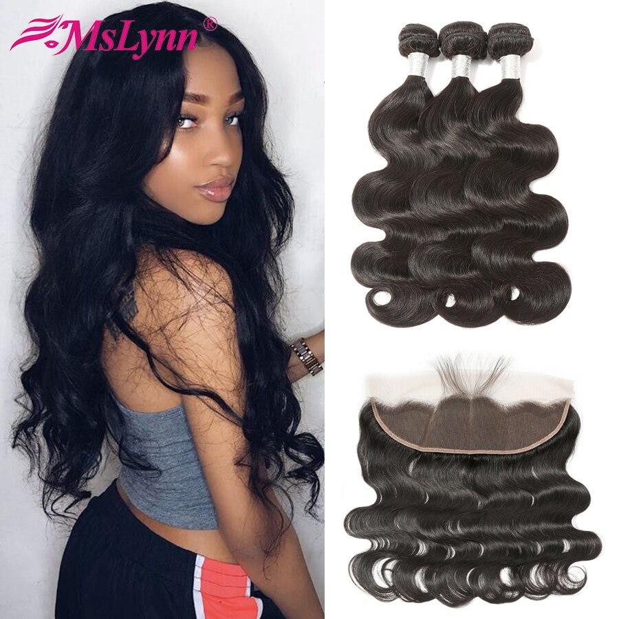 Body Wave Bundles With Closure Brazilian Hair Weave Bundles With Frontal Human Hair Bundles With Closure Frontal With Bundles