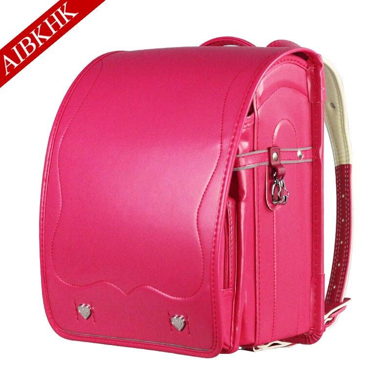 Детская школьная сумка для девочек и мальчиков, Япония, Pu Школьные сумки ортопедические детские рандосеру, детские сумки, школьные сумки дл