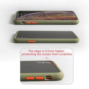 Image 3 - Matte Case For Samsung Galaxy S10 A50 A70 M20 Note 10 Plus A60 M40 S10e A30 Shockproof Hybrid Tough Armor Back Cover Capa Fundas