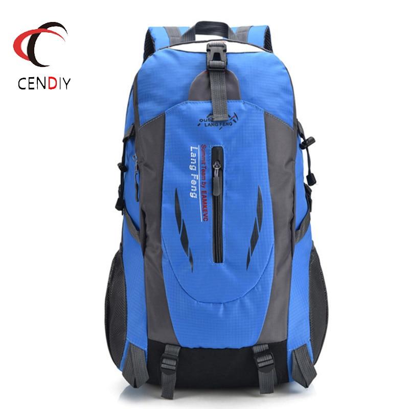 Hot Nylon Men's Backpack Women Large Capacity Waterproof Backpack Travel Escolar School Bag High Quality Laptop Backpack Mochila