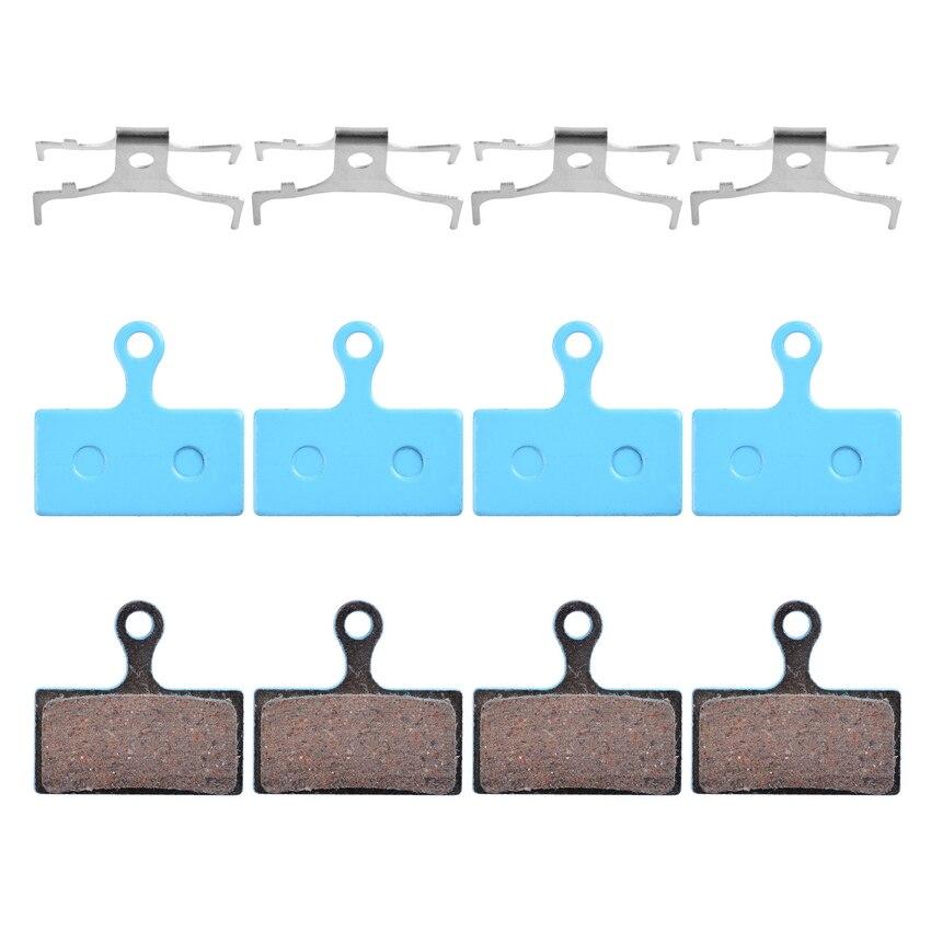 4 Pairs Bicycle Ceramic disc Brake Pads For SHIMANO G01S XTR M9000 M988 Deore XT M8000 M785 SLX M7000 DEORE M6000