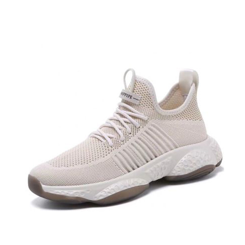 Promo 2020 Men's Fall Casual Sneakers New Flying Woven Mesh Breathable Sneakers Fashion Trend Wild Men's Casual Shoes