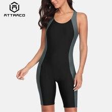 Привлекательный женский слитный спортивный купальник профессиональный