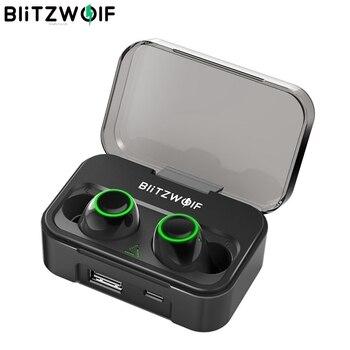 Blitzwolf BW-FYE3 bluetooth 5.0 Earphone IPX6 Waterproof with Mic
