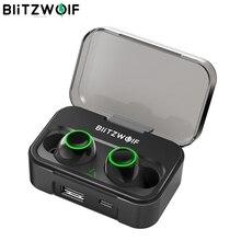 Blitzwolf BW FYE3 True Draadloze Bluetooth 5.0 Oortelefoon 6Mm Hifi Stereo Bilaterale Gesprekken Met 2600Mah Power Bank IPX6 Waterdicht