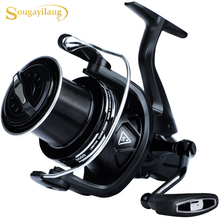 Fishing-Reel Powerful Saltwater 11000/12000-Series Sougayilang Spinning for Ultra-Smooth