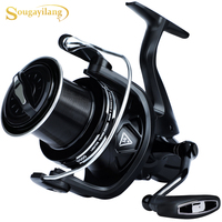Sougayilang Fishing Reel 10000/11000/12000 Series Surf Fishing Reel Ultra Smooth Powerful Spinning Reel for Saltwater Freshwater