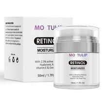 MO тюльпан ретинол 2.5% Расширенный антивозрастной крем для удаления темных пятен солнечных пятен увлажняющий крем для ухода за кожей