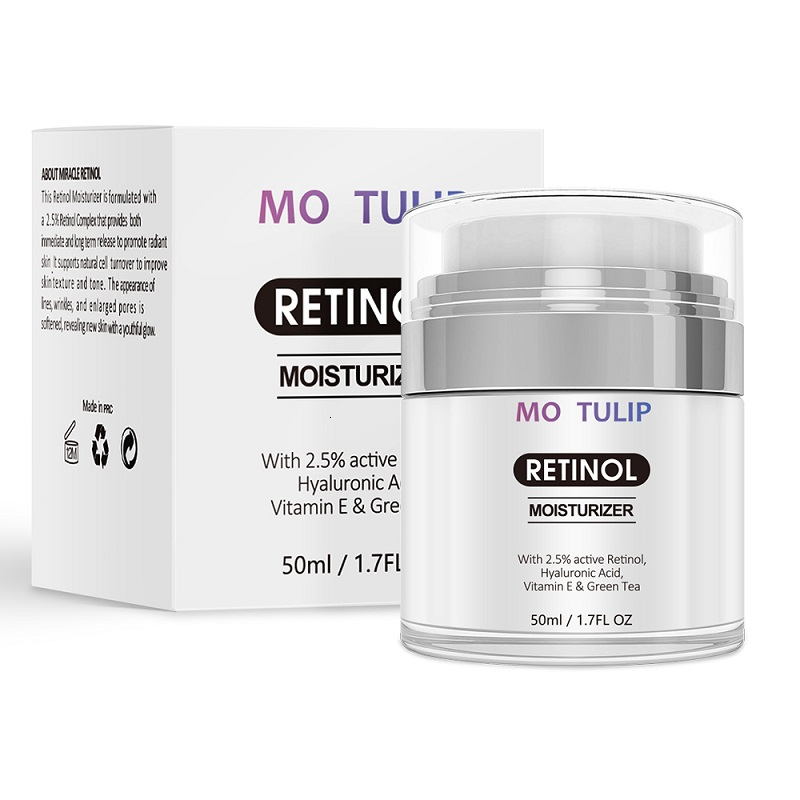MO TULIP Retinol 2.5% Advanced Anti-Aging Cream To Help Remove Dark Spots Sun Spots Moisturizing Cream Hydrating Skin Care Cream