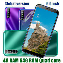 Smart telefon Android M31s Quad Core Gesicht ID 13MP Bildschirm HD 4G RAM Handys 64G ROM Original entsperrt 6,0 zoll 2SIM Celulares