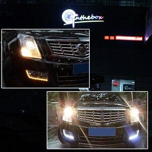 Image 5 - Gtinthebox 2PCS Error Free PH24W PHC24WY 10 SMD LED Front Turn Signal Light Bulbs For Audi Cadillac GMC Porsche etc Amber White