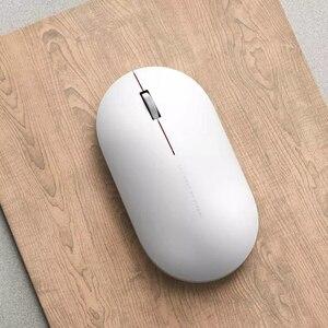 Image 2 - Originale Xiaomi Mi Mouse Senza Fili 2 WiFi link 1000DPI 2.4GHz Ottico Mini Mouse Per Notebook Ufficio di Gioco Portatile mouse
