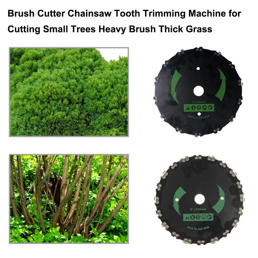 New 1pc Lawn Trimmer Grass Mowing Lawnmower Weeding Tray Trimmer Carbon Stainless Steel Head Machine Garden Tool Accessories in Garden Carts from Home Garden
