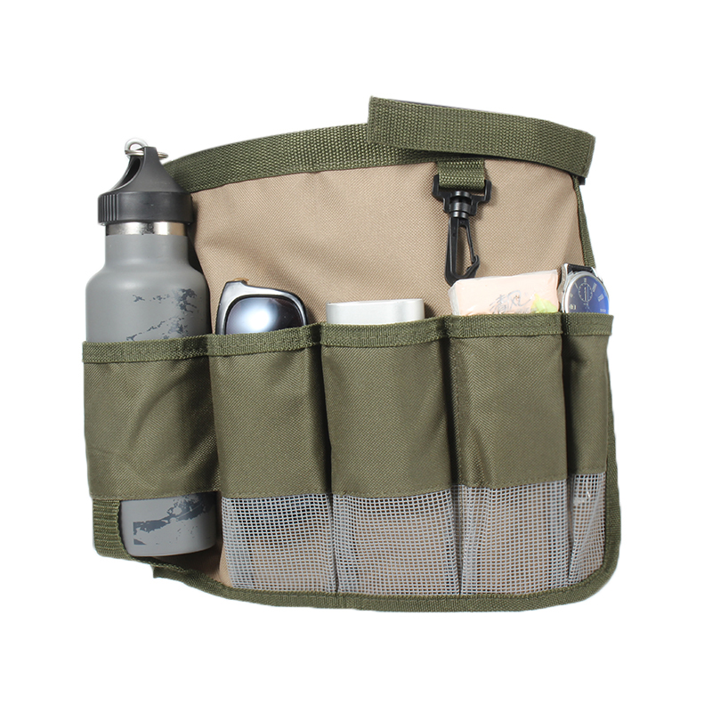 1Piece Garden Tool Bag Fabric Garden Bucket Bag For Gardening Tool Pouch Bags Foldable Hardware Tools Kit Bag Outside Pockects
