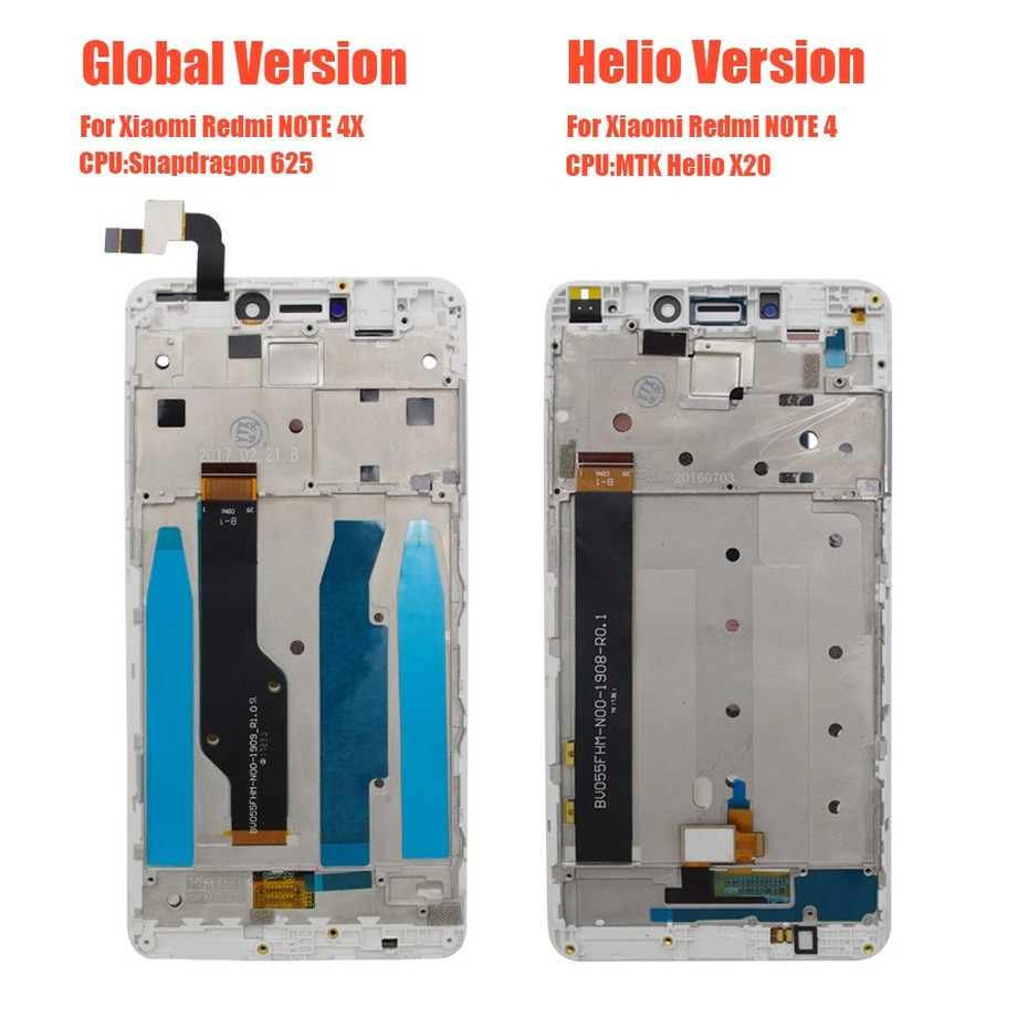 PINZHENG AAAA Original LCD For Xiaomi Redmi Note 4 4X Display Screen For Snapdragon 625 MTK Helio X20 Replacement LCD Display (3)