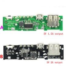 5V 1.5A 2A Power Bank ładowarka moduł ładowania obwodu pokładzie Step Up Boost moduł zasilania dla 18650 lipo Power Bank baterii Diy kit