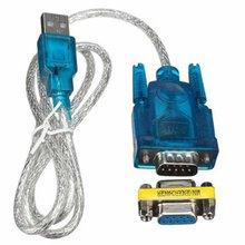 Cable USB a puerto serie RS232, convertidor de adaptador de puerto COM serie DB9 de 9 pines con adaptador hembra compatible con Windows 8 Sin CD