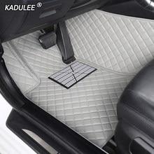 Tapis de sol de voiture personnalisé, intérieur de voiture, pour BMW e36 e39 e46 e60 e90 f10 F15 F16 f30 x1 x3 x4 x5 x6 1/2/3/4/5/6/7