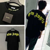 Palm Angels T Shirt Men Women 19ss OverSize Streetwear Summer Style T-shirt Hip Hop FOG Palm Angels Vetements Tshirt Top Tee