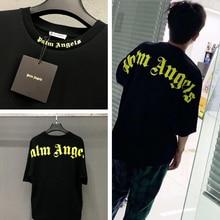 Palm Angels T Shirt Men Women 19ss OverSize Streetwear Summer Style T-shirt Hip Hop FOG Vetements Tshirt Top Tee
