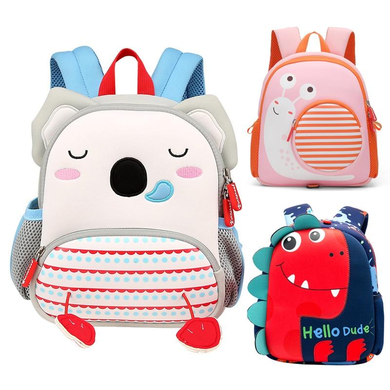 Fashion Children Animals School Backpacks For Kids Cute Koala Rabbit Schoolbag Kindergarten Girls School Bags Mochila Escolar