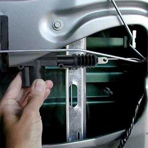 Image 5 - العالمي 12 فولت سيارة قفل أبواب مركزي المحرك واحد بندقية نوع التحكم عن بعد المركزي قفل الباب عدة السيارات نظام قفل السيارات